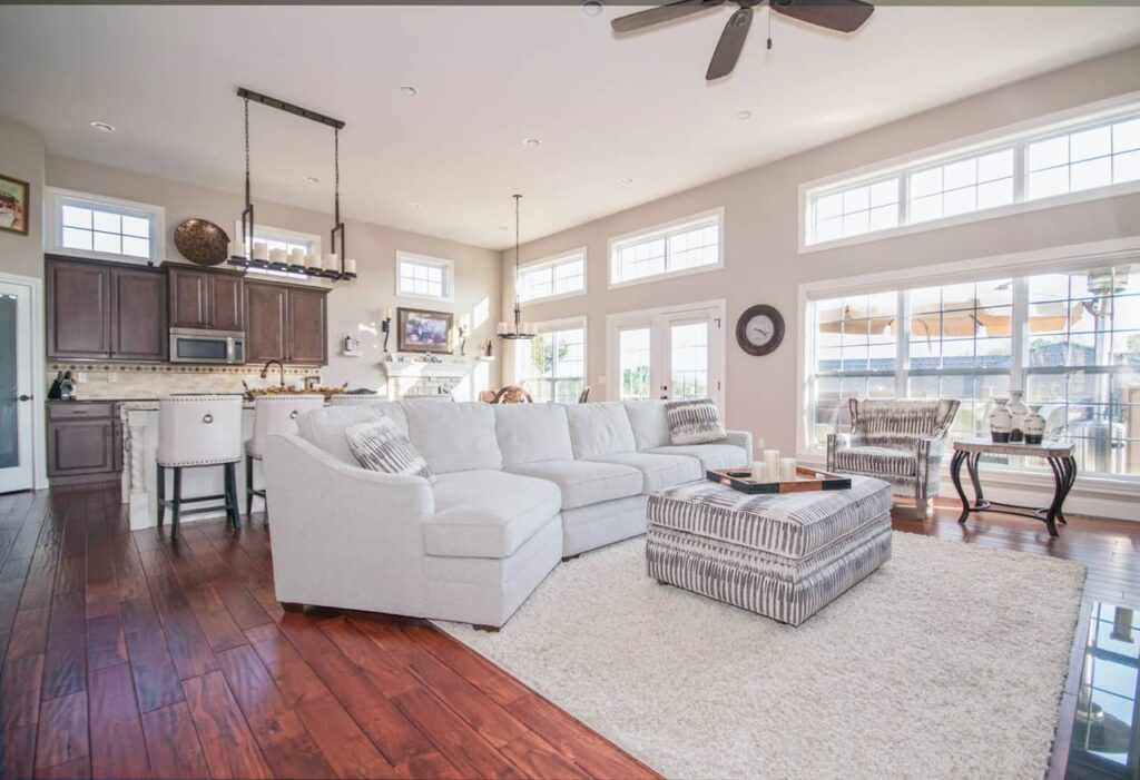 home remodeling a beautiful living room